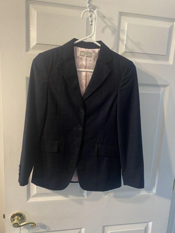 WELLINGTON COLLECTION Show Coat 16R Blue Riding Jacket
