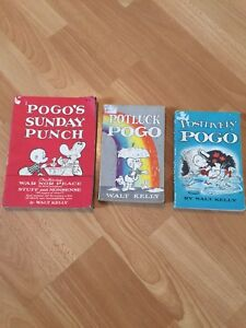 Vintage Pogo Comics by Walt Kelly