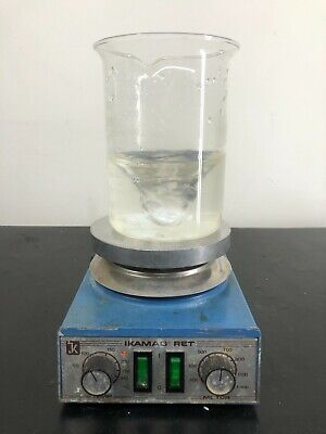 Ikamag Ret Basic Hot Plate Magnetic Stirrer Stirring Digital 120v Warranty