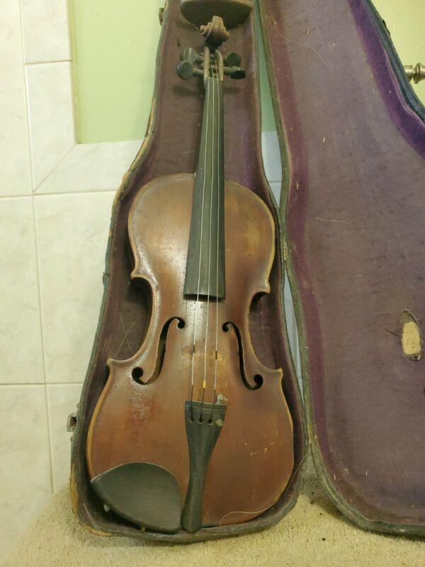 "Violin for Restoration, François Salzard 23 1/2"" long"