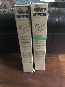 2 stelpro heaters 750W  $25