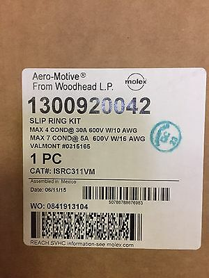 New Woodhead 13009200042 Aero-motive Slip Ring