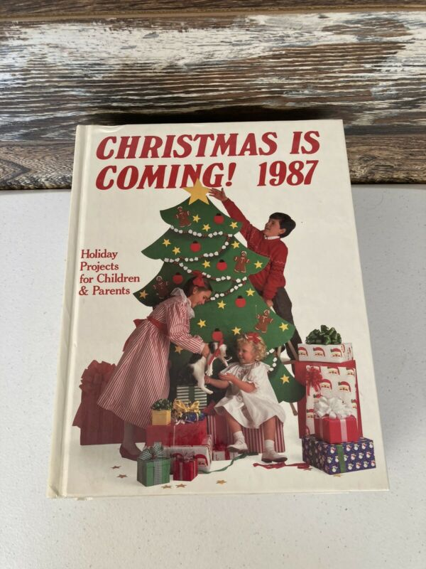 Christmas Is Coming Vintage Kids Holiday Craft Books Lot of 9 1987 - 1995 Oxmoor