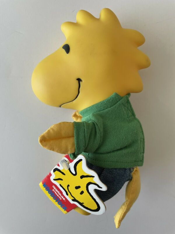 NEW PEANUTS WOODSTOCK TOY DOLL BY APPLAUSE 36017 WITH TAGS VINTAGE COLLECTIBLE