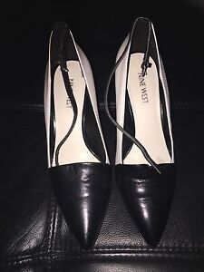 Ninewest black and white wedge size 6 Sydney City Inner Sydney Preview