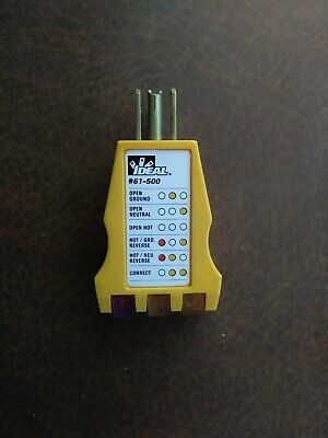 Ideal 61-500 Receptacle Circuit Tester