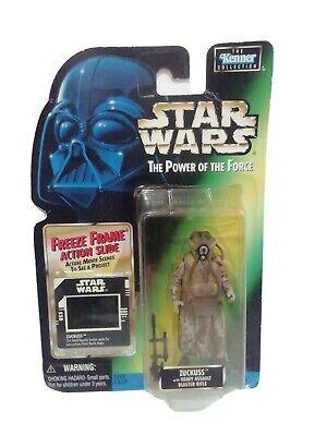 Star Wars Power of The Force Freeze Frame - Zuckuss Bounty Hunter Action Figure