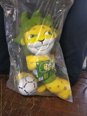 World Cup 2010 South Africa Zakumi Plush Soft Toy Football Mascot Soccer 30cm segunda mano  Embacar hacia Argentina