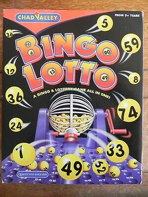 Vintage Chad Valley Bingo Lotto game