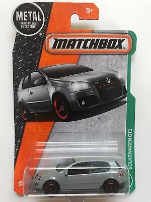 Matchbox Volkswagen GTI Coupe Gray Scale 1:64 New