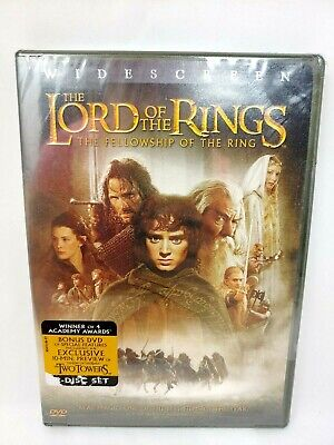 The Lord of the Rings: Fellowship of the Ring DVD 2-Disc Set Wide Screen