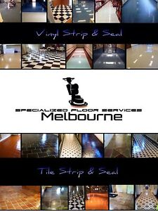 Floor Strip and Seal Services Melbourne CBD Melbourne City Preview