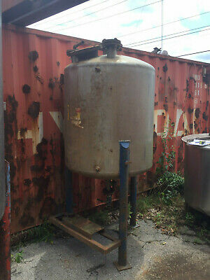 Stainless Steel Tank Approx. 260 Gallon Capacity Good Condition Used