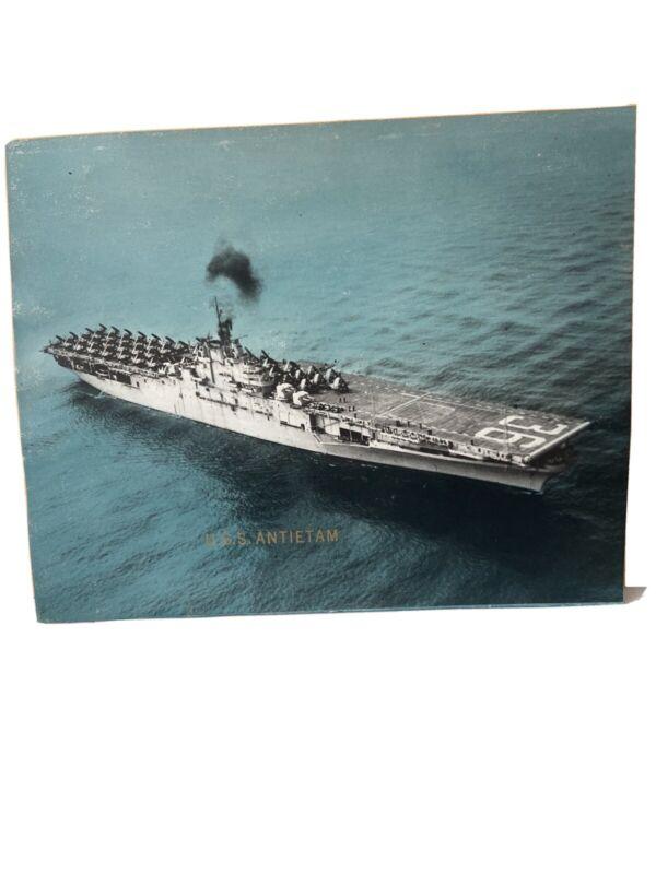 U.S.S. Antietam - Historical USN -  US Navy Photo