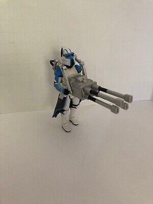 """Star Wars Legacy CLONE ARF TROOPER 3.75"""" BD16 501st Cip-Quad Heavy Gunner Cannon"""