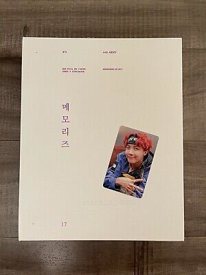 BTS OFFICIAL MEMORIES OF 2017 J-HOPE PHOTO CARD PRE-OWNED