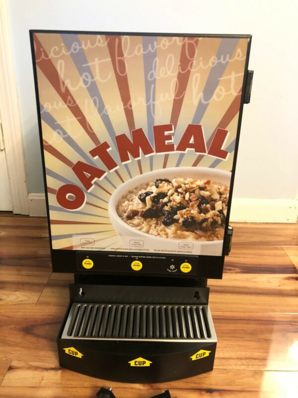 Curtis Commercial Oatmeal Auto Dispenser/Dispensing System! 3 Flavor