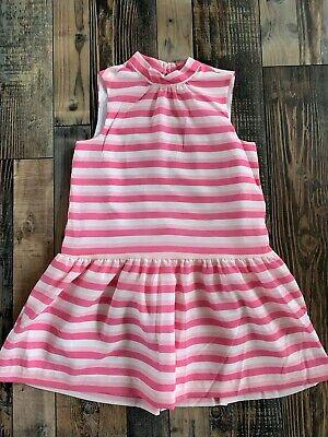 NWT GYMBOREE Girls Pink White Stripe Dressy Easter WEDDING DRESS Size 12 - Girls Easter Dresses Size 12