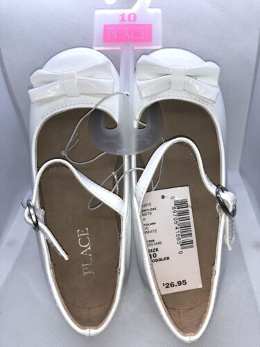 The Children's Place Dress Shoes, White. NEW