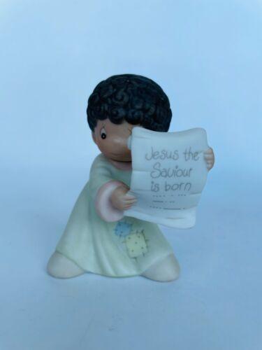 "Precious Moments ""Have I Got News For You"" #528137 Mini Nativity Add., 1st Mark"