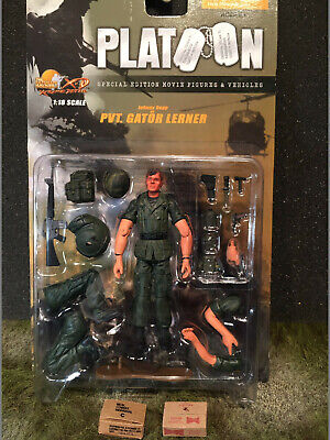 1/18 Platoon Pvt. Lerner Figure with a case of Beer and MRE's Ultimate Soldiers (Name Of Beer)