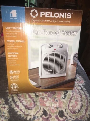 NEW Pelonis Fan-Forced Heater with Thermostat HF1030-TW