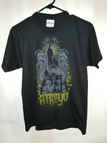 Atreyu Black T-Shirt Youth Large Official Band Merchandise NEW metal band