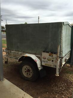 Covered box trailer Trangie Narromine Area Preview