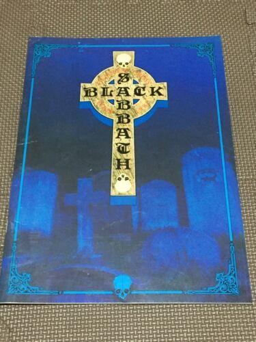 """Black Sabbath"" Tourbook Headless Cross Tour 1989 Booklet"