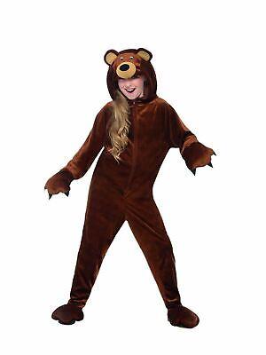 Boy Girl Bear Costume Kids Fancy Dress Animal Story Book week Outfit Fairytale 3