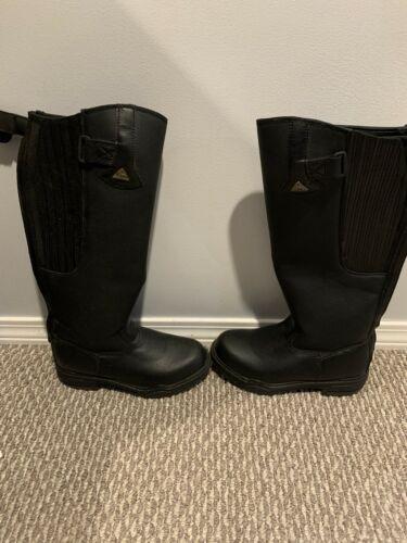 8 Mountain Horse Winter Tall Boots, Black, EUC, Super warm