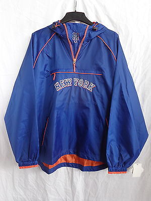 New York Mets YOUTH Hooded Light Weight Pullover Jacket 50% OFF! - LB05335