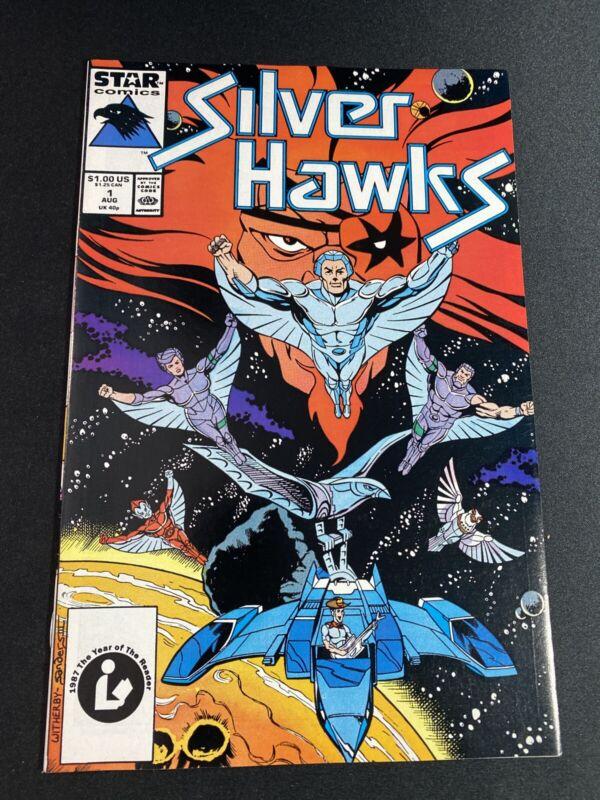 Silver Hawks #1 Star comics  Marvel 1987