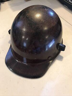 Vintage 1979 Msa Skullgard Miners Safety Helmet Hard Hat Fiberglass
