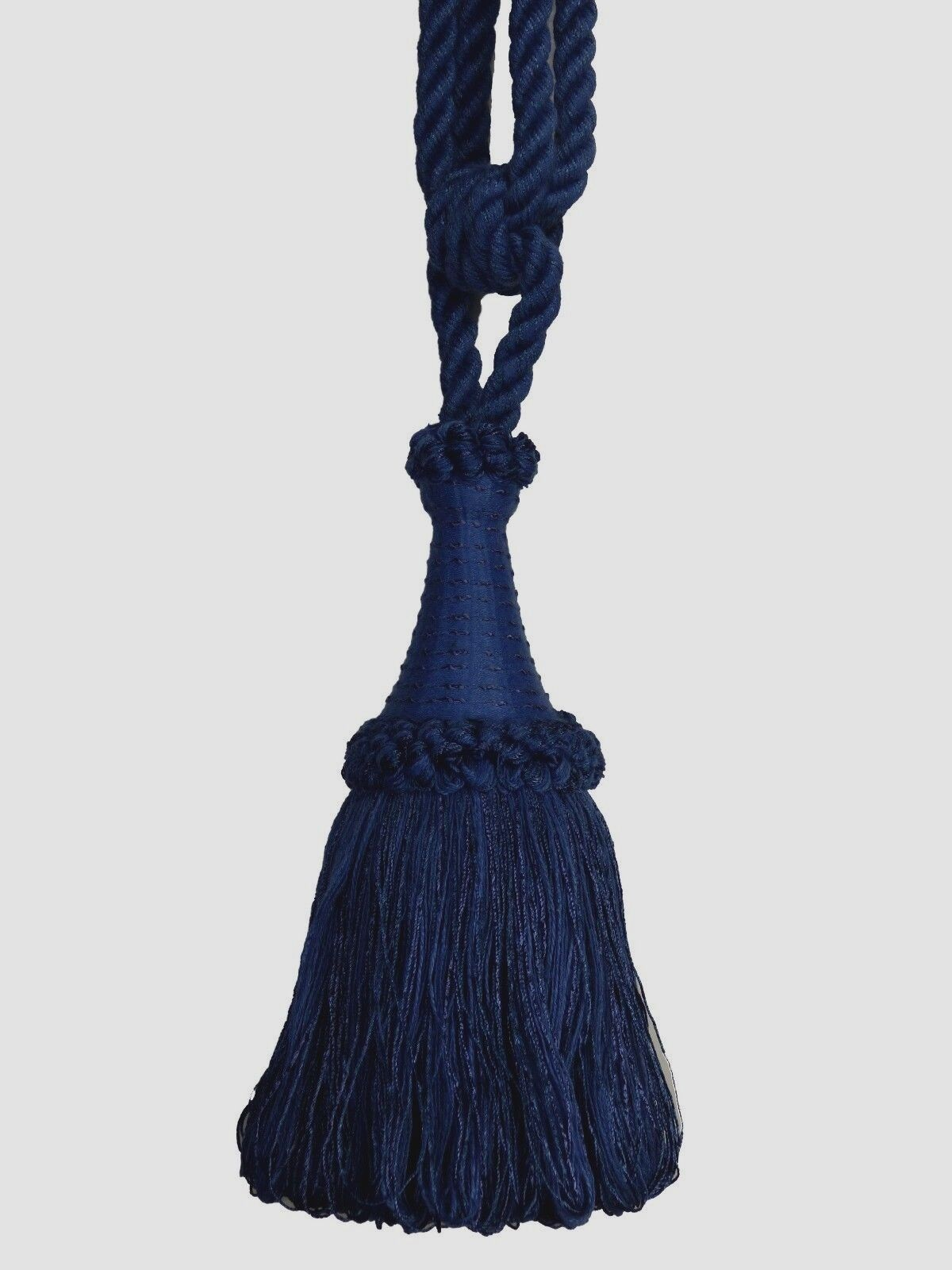 "Conso Empress Collection 22011 C12 SANDSTONE Decorative 6/"" Tassel 5/"" Loop Cord"
