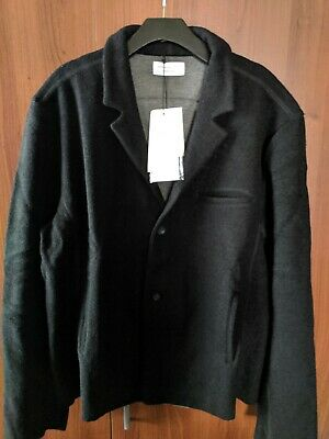 john Elliott Richmond Jacket USA MADE Wool Black Season Eight size 5 XXL NEW NWT