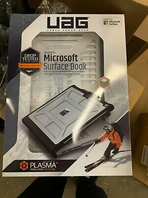 UAG Plasma Microsoft Surface Book 1 & 2 Armor Shell Case SFBKUNIV-L-IC BRAND NEW for sale  Shipping to South Africa