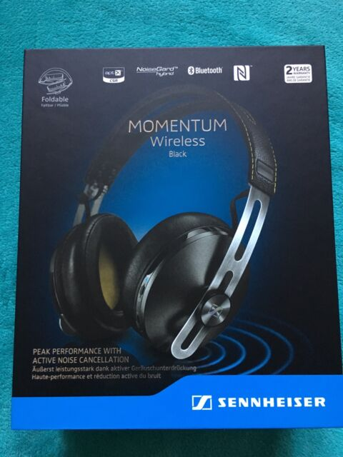 Sennheiser Momentum M2 AEBT Schwarz Wireless Bluetooth Kopfhörer Over Ear  NEU