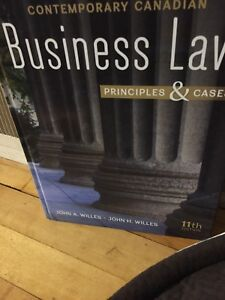 Contemporary Canadian Business Law  11th Edition
