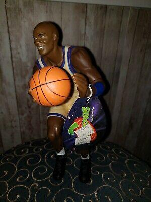 "1996 Michael Jordan MJ #23 10"" Space Jam poseable Action Figure Doll NBS1"