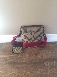 Coach Purse & Matching Wallet