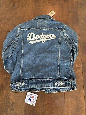 Levi Dodgers Jean Jacket Size S Nwt