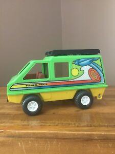 Vintage 1977 Fisher Price Adventure People Daredevil Sport Van