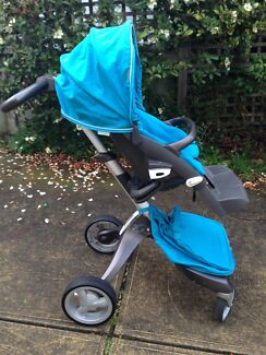 RARE FIND! Stokke Xplory Pram, Carry Cot and ALL Accessories!