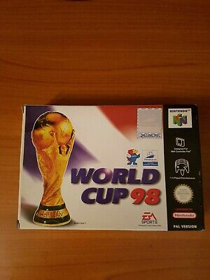 VINTAGE NINTENDO 64 N64 FIFA WORLD CUP 98 CARTUCCIA VIDEOGIOCO PAL