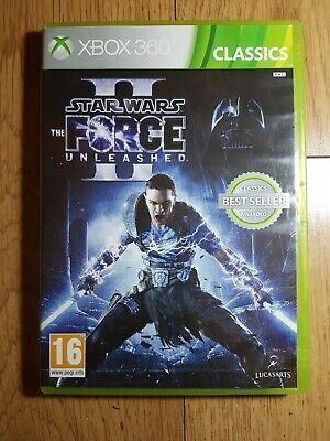 Star Wars: The Force Unleashed II 2 (Microsoft Xbox 360, 2010) free postage