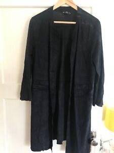 Oliver Grant Navy Suede jacket 100% leather