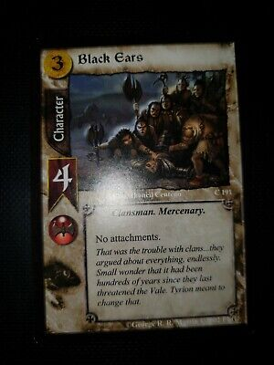 A Game of Thrones Trading Card Game Black Ears - CB199