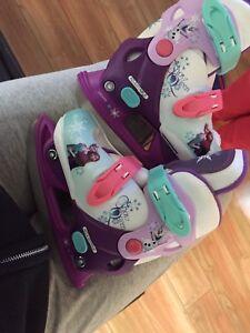 Girls skates size 8-11 adjustable frozen skates
