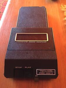 8 Track And Cassette Adapter